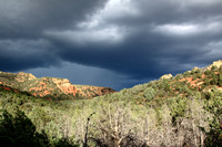 Storm moving in near Bear Sign Cyn